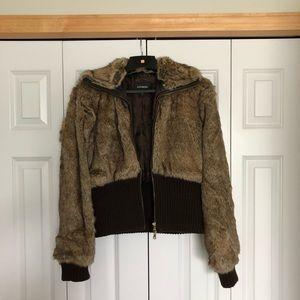 Faux Fur Express Jacket